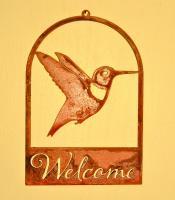 Elegant Garden Design Hummingbird Roundtop Welcome