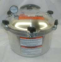 All-American 10 1/2 Quart Liquid Capacity Canner/Cooker