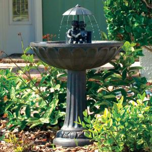 Non-Heated Bird Baths by Smart Solar
