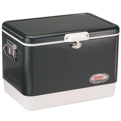 Coleman 6154B720 54 Quart Steel Belted Cooler - Green