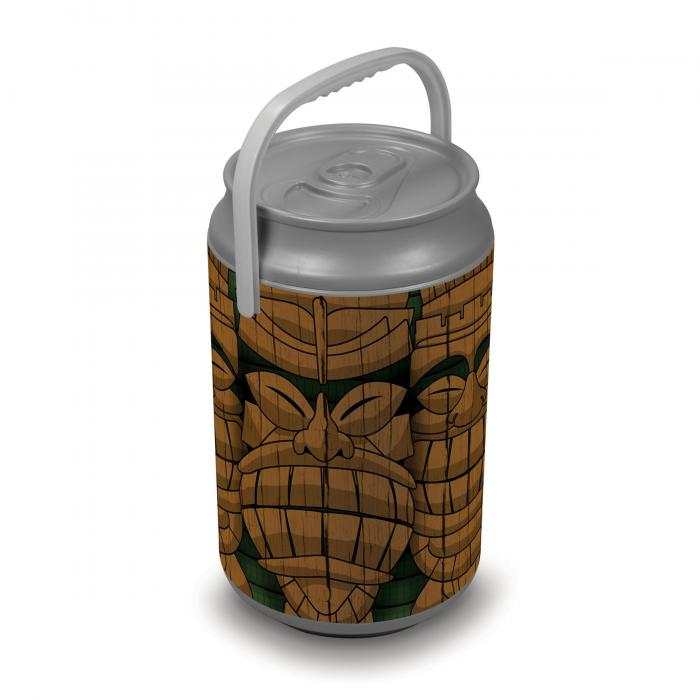 Picnic Time Extra Large Insulated Mega Can Cooler, Tiki Statue Can