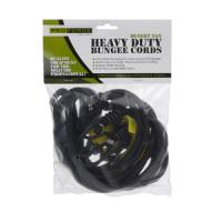 ProForce Heavy Duty Bungee Cords Black 4 Pack