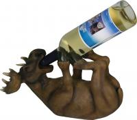 Rivers Edge Products Moose Wine Bottle Holder