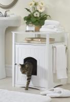 White Color Cat/Dog Washroom/House
