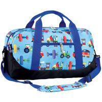 Olive Kids Trains, Planes & Trucks Duffel Bag
