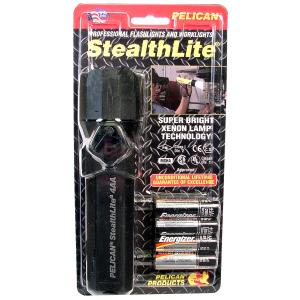 Pelican Products Stealthlite, 4AA, Black