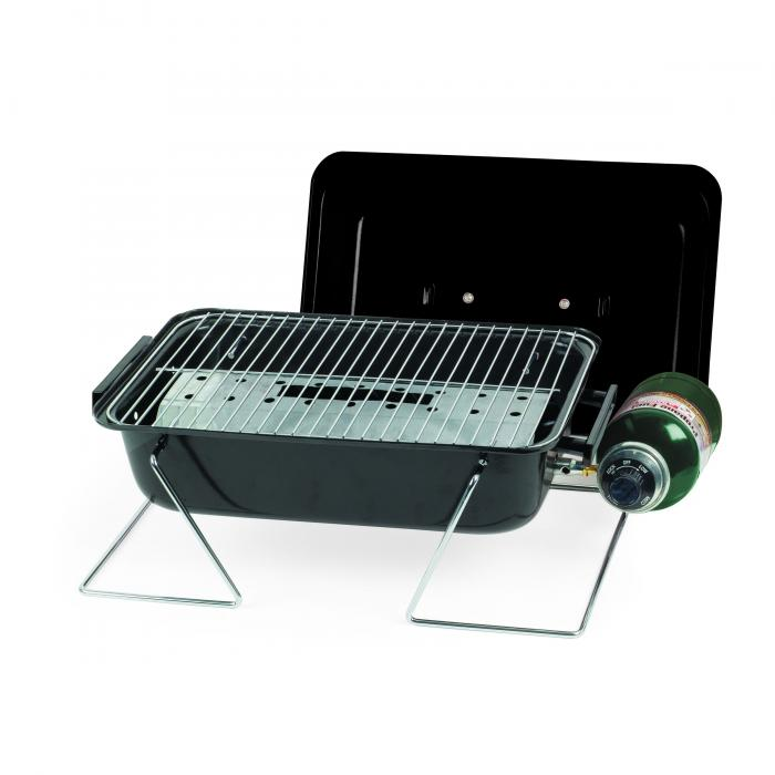 Picnic Time Vulcan Tailgating Cooler with BBQ Grill with Trolley