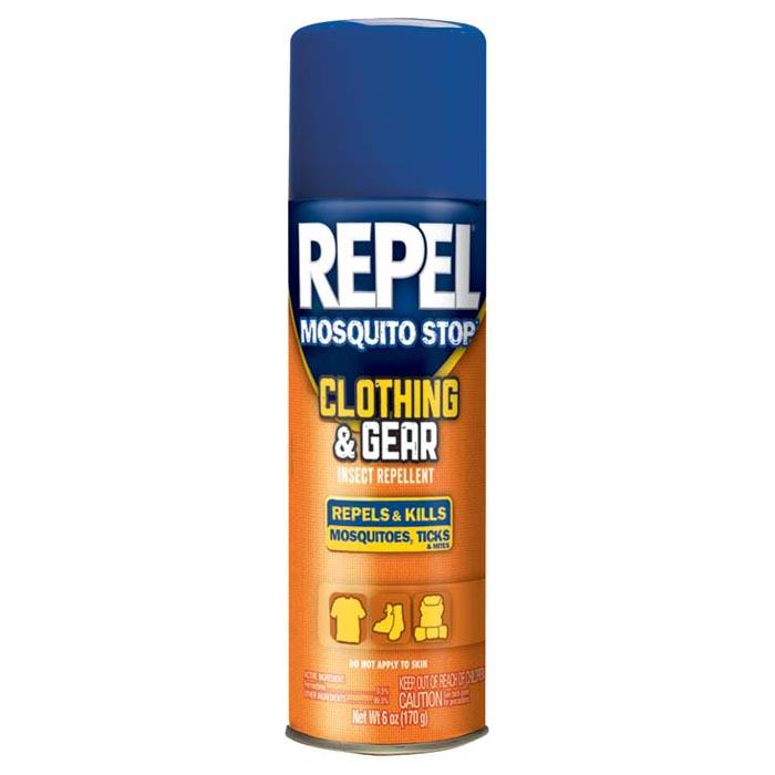 repel clothing and gear insect repellent aerosol 6 5 oz