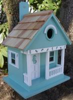 Home Bazaar Sea Horse Cottage - Aqua
