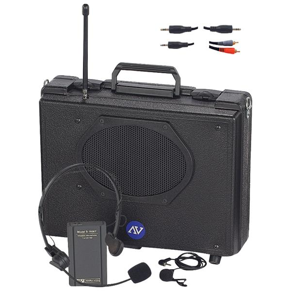 Amplivox SW222 Audio Portable Buddy PA System (Wireless)