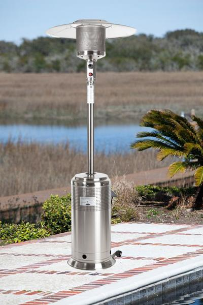 Well Traveled Living Stainless Steel Pro Series Patio Heater