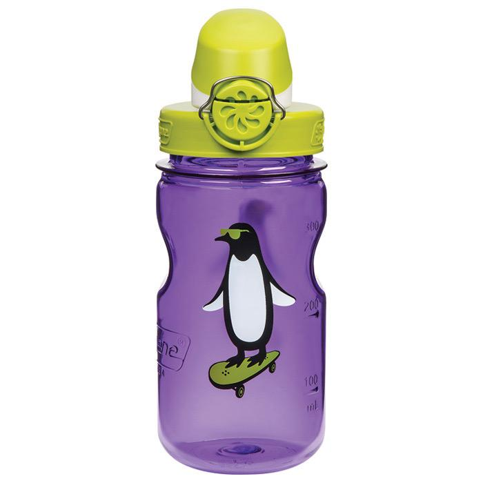 Nalgene On The Fly Kids Purple Penguin With Igna Cap