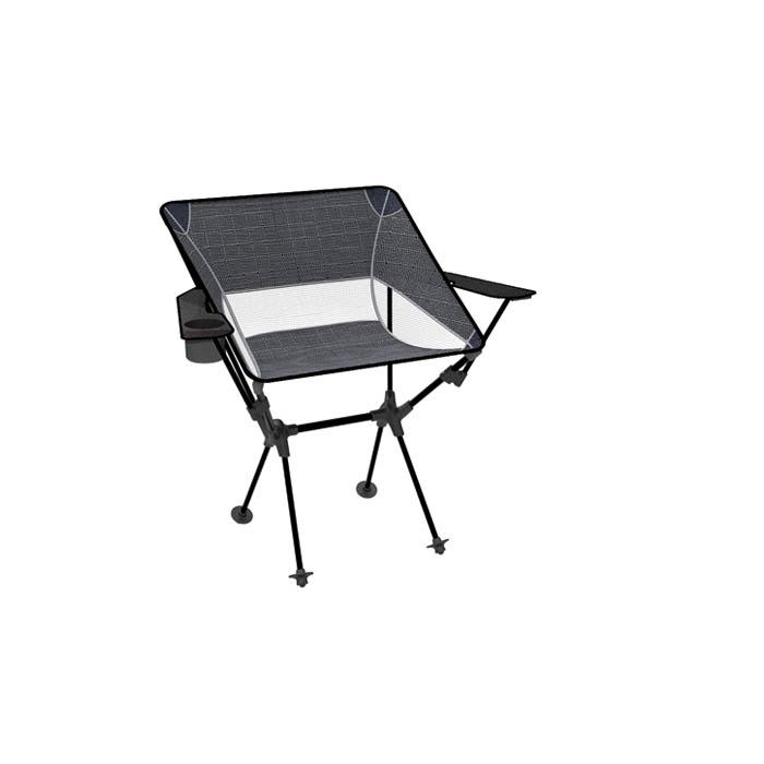 Wallaby Chair Camping Chair, Black