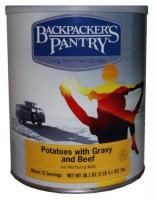 Backpacker's Pantry Potatoes, Gravy & Beef, Can