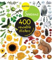 Workman Publishing Eyelike Seasons 400 Reusable Stickers