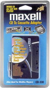 Maxell 190038 CD-to-cassette Adapter