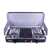 Stansport 2-Burner and Grill Propane Stove