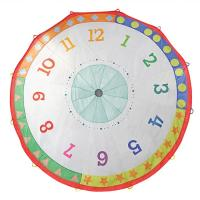 Pacific Play Tents Tick Tock Clock 12 Ft Parachute