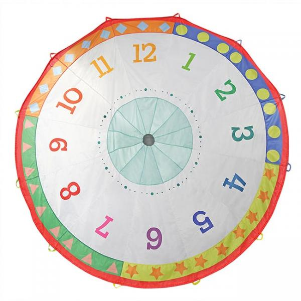 Pacific Play Tents Tick Tock Clock 12 Ft Parachute