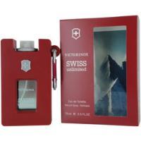 Victorinox Swiss Unlimited By Victorinox Eau De Toilette Spray Refillable Rubber Bottle 2.5 Oz for Men
