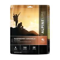 Raspberry Granola w/Milk Serves 2