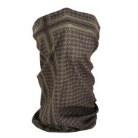 ZANheadgear Fleece Lined Motley Tube - Olive Houndstooth