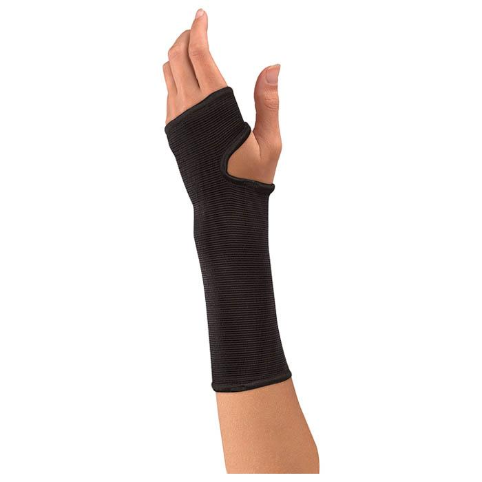 Mueller Elastic Wrist Support, Regular - Black