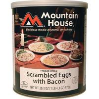 Mountain House Eggs with Real Bacon - 16 2/3 Cup Servings