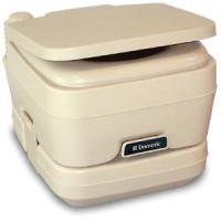 Dometic - 964 MSD Portable Toilet 2.5 Gallon Parchment