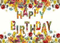 Tree Free Greetings Resplendent Birthday