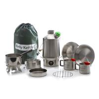 Kelly Kettle Ultimate Scout Kit - Stainless Steel Camp Kettle