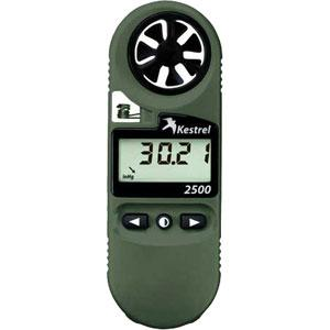 Kestrel 2500NV Wind Meter, Olive with Night Vision
