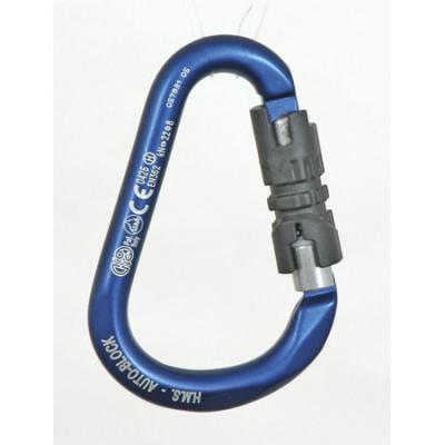KONG HMS 3 Stage Auto Lock Carabiner Polished