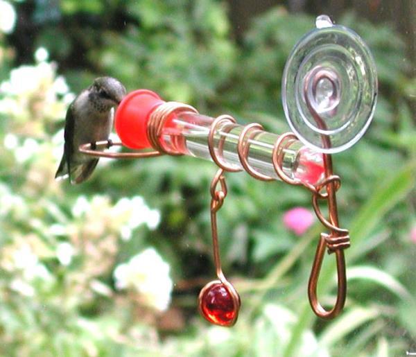 Songbird Essentials Wonder One Tube Window Bird Feeder