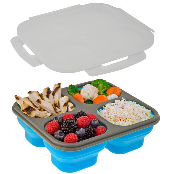 Smart Planet Blue Lunch Kit Perfect Portions