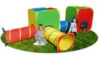 Mega Cubes and Tubes Kids Play Set