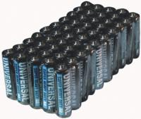 Universal Battery D5322/D5922 Super Heavy-Duty Battery Value Box (AA 50-pk)