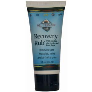 All Terrain Recovery Rub, 3 Ounce Tube