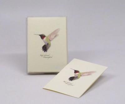 Steven M. Lewers & Associates Ruby-throated Hummingbird Notecard Assortment (8 of 1 style)