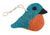 Loofah Art Bluebird