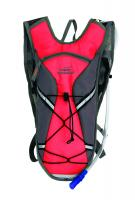 Texsport Medina Hydration Pack, 2 Liter, Flame Scarlet/Gray