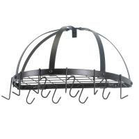 "Old Dutch 22"" x 11.5"" Oil Bronze Pot Rack"