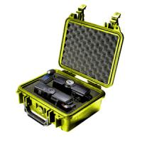 Pelican Products 1200 Case, Yellow with Foam