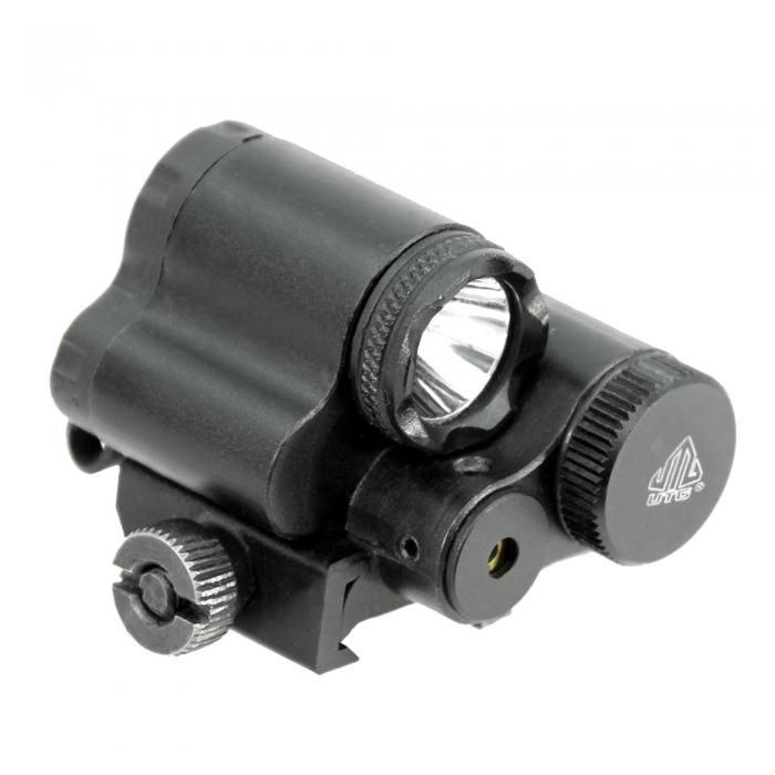Sub-compact LED Light & Red Laser Combo