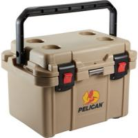 Pelican 20 Quart Elite Cooler - Tan