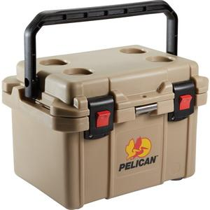 Pelican 20 Quart Elite Cooler - Tan
