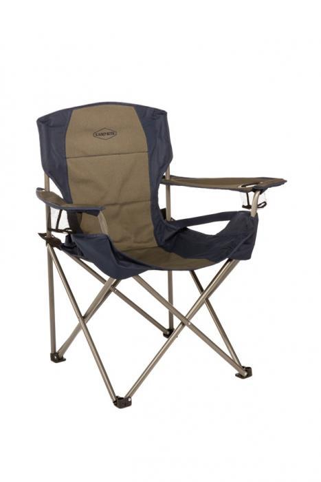 Kamp-Rite Folding Chair with Padded Lumbar