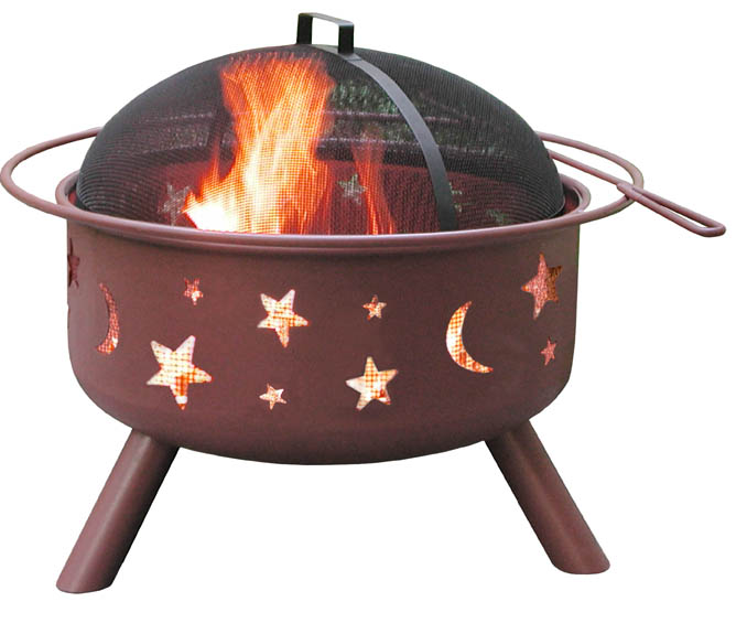 Landmann Big Sky Fire Pit With Stars Amp Moons Georgia