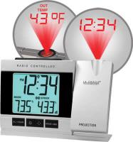 La Crosse Technology Projection Alarm Clock with IN/OUT Temperature