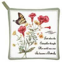 Alice's Cottage Yellow Swallowtail Potholder